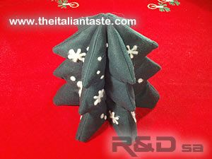 handmade stuffed Christmas tree