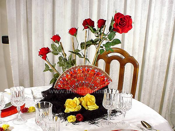 Elegant Simple To Do Table Setting Idea For Your Spanish Themed Dinner Party