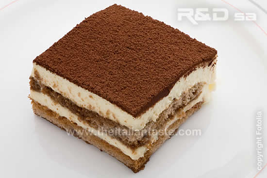 tiramisu in individual portion, how to serve it